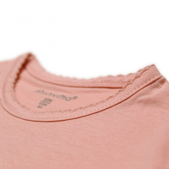 Bluza fina de corp din bambus - Minymo - Misty Rose