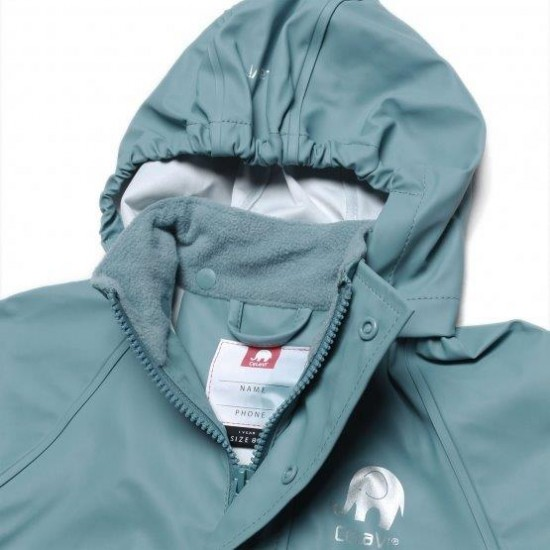 Set jacheta+pantaloni ploaie si windstopper - CeLaVi - Smoke Blue