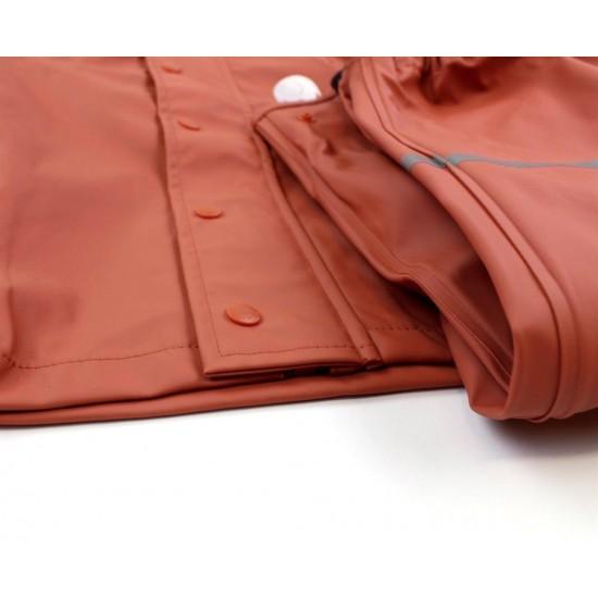 Set jacheta+pantaloni ploaie si windstopper - CeLaVi - Redwood