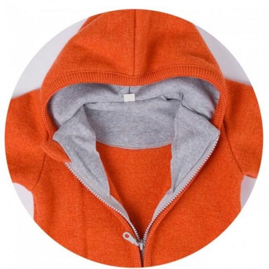 Overall din lana merinos organica - tumble/boiled wool - Iobio - Emerald
