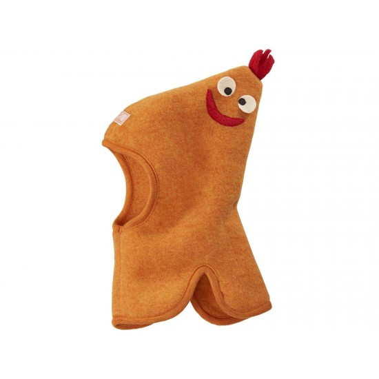 Cagula Max din lana merinos fleece KBT - Pickapooh - Orange