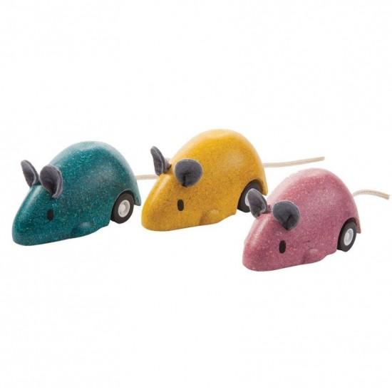 Soricelul plimbaret Galben Plan Toys