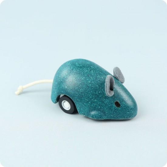 Soricelul plimbaret Albastru Plan Toys